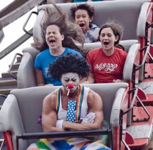 Clearly, not everyone enjoys the ride.